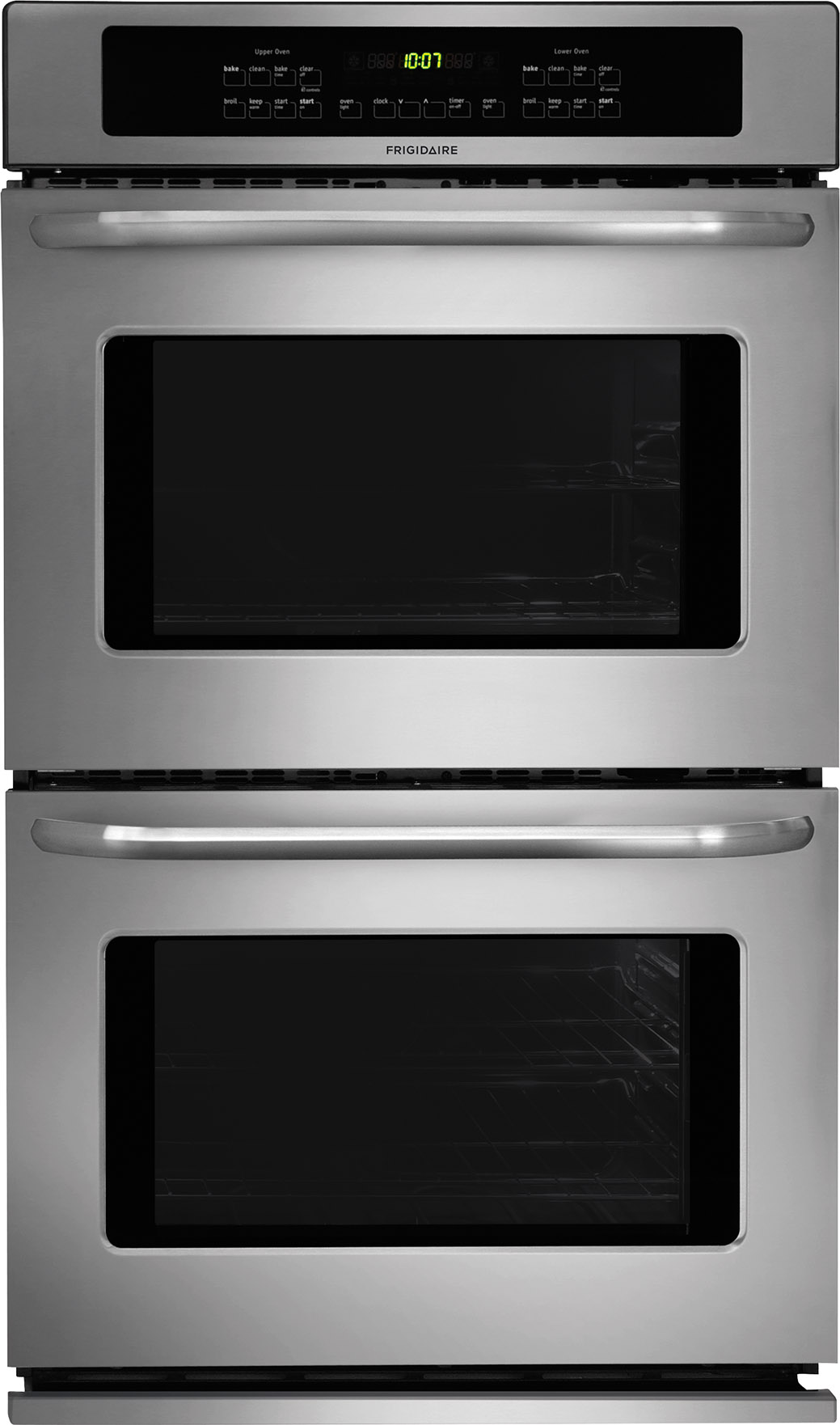 Frigidaire 30 self clean double electric stainless steel for Wall oven