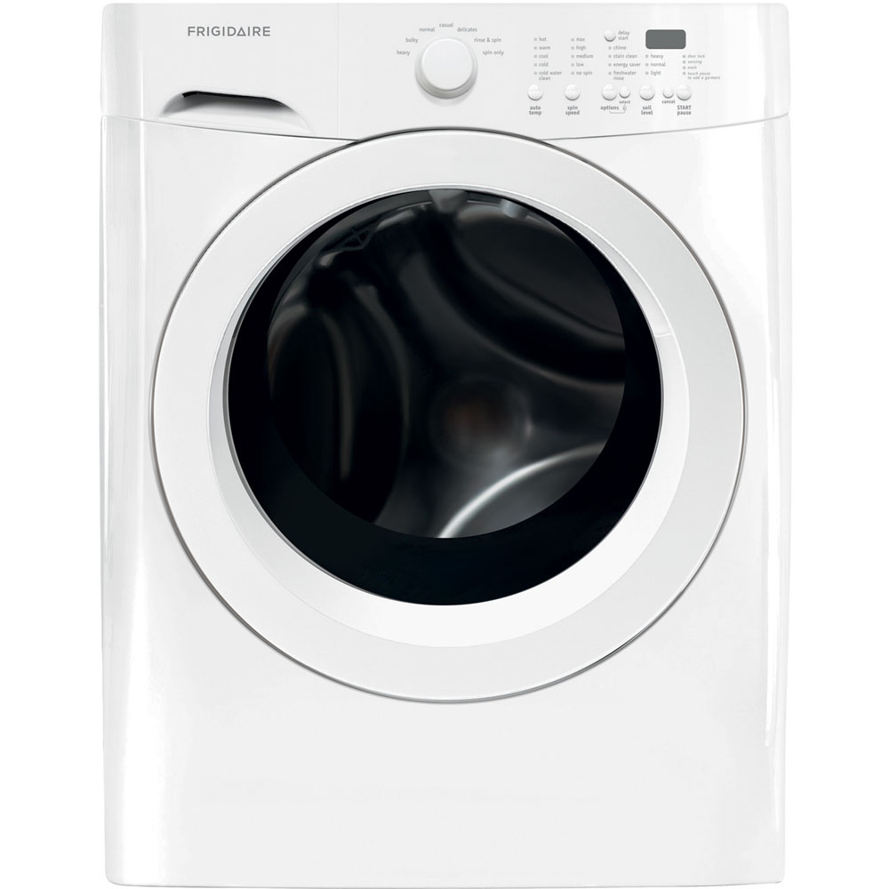 New Frigidiare HE 3.9 Cf Front Load Washer 7.0 Cf Electric