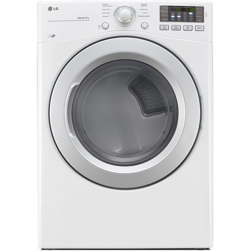 Lg White Stackable Stacked Laundry Center Front Load